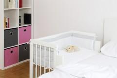 Baby Beistellbett für Ikea Malm Bett