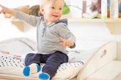 Keine Kanten = mehr Sicherheit für dein Baby