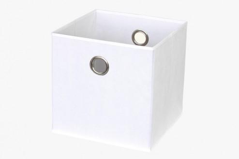 Expedit Regalbox zur Aufbewahrung in weiß