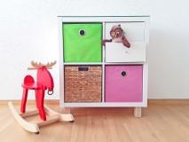 Kallax Regalbox zur Aufbewahrung Kinderzimmer