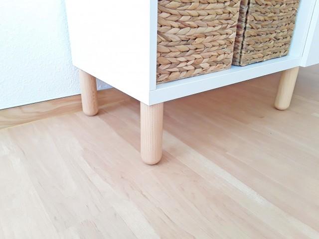Möbelfüße für Ikea Besta Regal