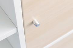 Möbelknopf an Ikea Expedit Tür