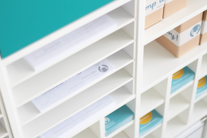 Postfach Einsatz für Ikea Kallax Regal