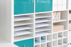 Postfach Einsatz für Papier im Kallax