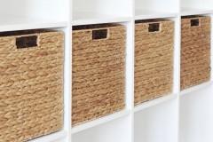Ikea Kallax Regal mit 4 Regalkörben