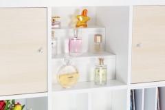Parfümaufbewahrung in einem Ikea Expedit Regal