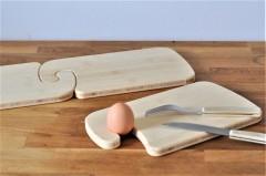 Frühstücksbrettchen mit Haken - der neue Allrounder auf dem Frühstückstisch