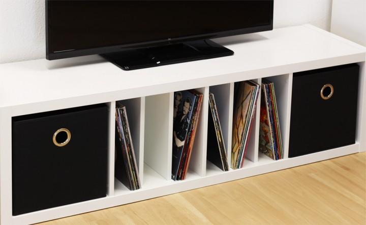 Vertikaler Fachteiler für Ikea Kallax Regal