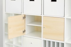 Ikea Kallax Regal mit Türen