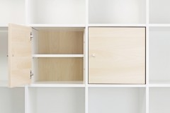 Regalboden in Ikea Kallax Tür-Einsatz