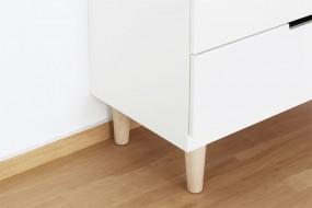 dieses baby beistellbett passt auch an ein ikea malm bett new swedish design. Black Bedroom Furniture Sets. Home Design Ideas