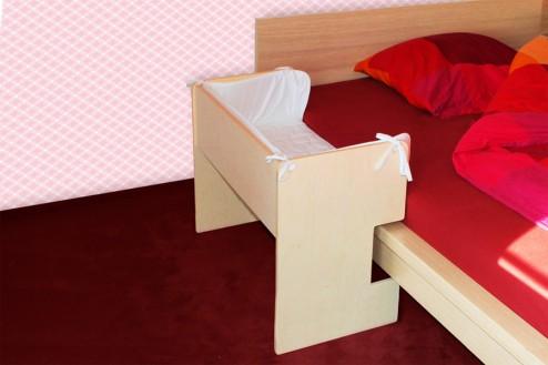 Ikea Malm mit Baby Beistellbett