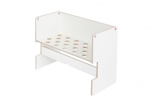 Ikea Malm Bett Beistellbett hohe Version