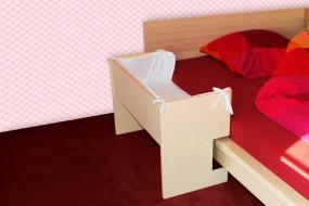 Ikea Malm Beistellbett (natur)