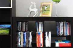Expedit Regaleinsatz Buch und DVD