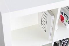 Expedit Rückwand in Regalfach eingebaut / Vorderansicht