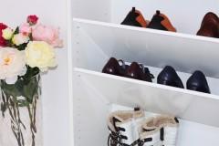 Fächer für Schuhe im Billy Regal