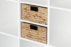 regalkorb f r ein halbes ikea kallax regalfach aus. Black Bedroom Furniture Sets. Home Design Ideas
