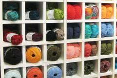 Expedit Einsatz zur Aufbewahrung von Wolle